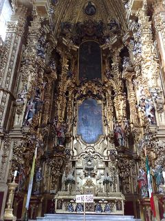 Main altar of the Mexico City Cathedral